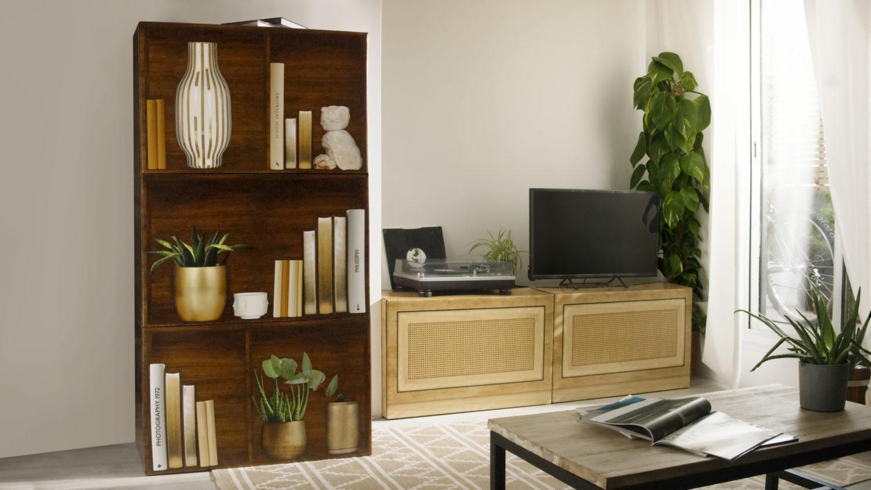 Chez ManoMano les meubles faisaient déjà un carton maintenant les cartons font des meubles