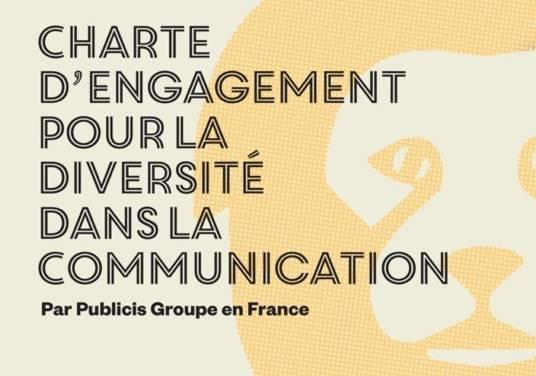 Publicis Groupe en France lance sa Charte d'Engagement pour la Diversité dans la Communication