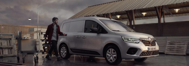 Avec Nouveau Renault Kangoo Van«Entrez par la grande porte»